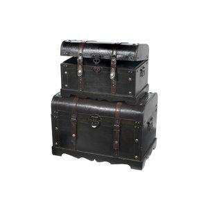 Coffres de rangement par IH CASADECOR, bois Brun