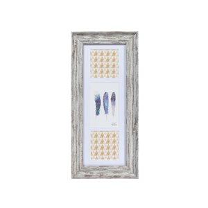 IH Casa Decor Artisan Grey picture frame ( 4-in x 6-in )