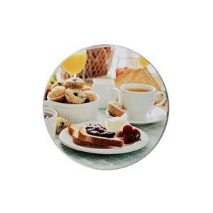 Couvercles de four déjeuner français par IH Casa Decor, ens. de 4