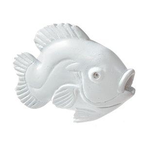 Figurine de poisson en polyrésine de 4,75 po x 6,2 po par IH Casa Decor