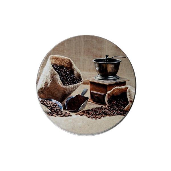 Couvercles de four à moulin à café par IH Casa Decor, ens. de 4