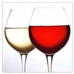 Paquet de 20 serviettes de table à 3 épaisseurs de IH CASADECOR (verre à vin) - Ensemble de 6