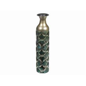 Vase en métal torrent par IH Casa Decor, 18 po