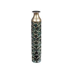 Vase en métal torrent par IH Casa Decor, 24 po