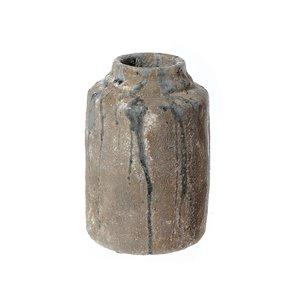 Vase cylindrique en céramique elden par IH Casa Decor, 2 po