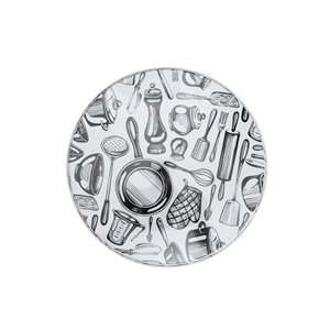 Couvercles de four à ustensiles de cuisine par IH Casa Decor, ens. de 4