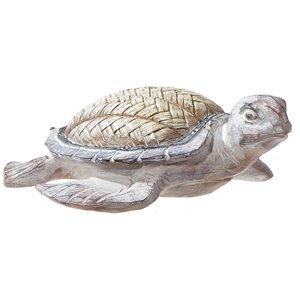 Figurine de tortue de mer en polyrésine par IH Casa Decor, 4,25 po