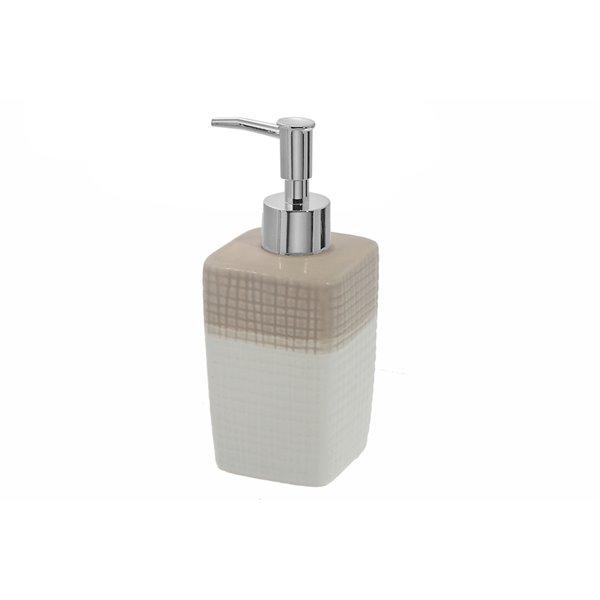 Distributeurs de savon beige par IH Casa Decor - ens. de 2