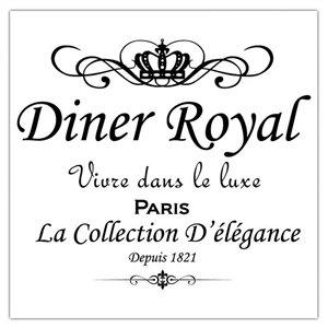 Paquet de 20 serviettes de table à 3 épaisseurs de IH CASADECOR (diner royal) - Ensemble de 6