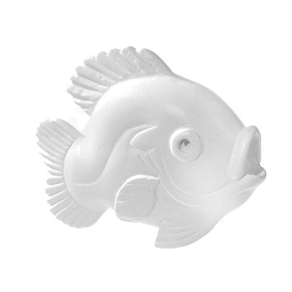 Figurine de poisson en polyrésine de 4,75 po x 6,7 po par IH Casa Decor
