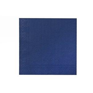 Paquet de 20 serviettes de table à 3 épaisseurs de IH CASADECOR (bleu) - Ensemble de 6