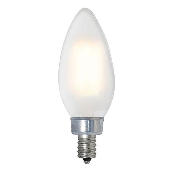 Ampoule B12 à intensité réglable de TorontoLed, 50 W, candélabre, chaud, paquet de 2