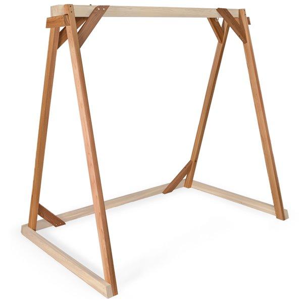 Balançoire de jardin en bois non traité par All Things Cedar, 6 pi