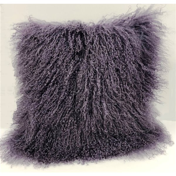 Indoor Decorative Pillow from Honolulu Home Fashions - Mongolian Square - 16-in W X 16-in L