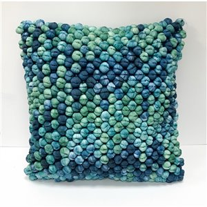 Honolulu Home Fashions Bandon 18-in W X 18-in L Indoor Decorative Pillow - Square