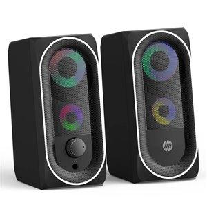 HP 4-in 6-Watt Gaming Speaker - 2-Pack