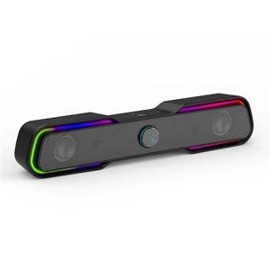 Barre de son USB de 17,3 pouces 6 watts par HP