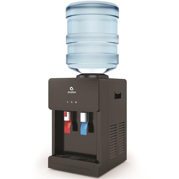 Distributeur d'eau froid et chaud Avalon, remplissage par le haut, pour comptoir