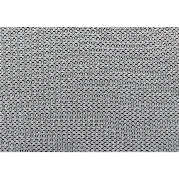 Fauteuil directionnel contemporain à hauteur ajustable, blanc et gris, de Monarch Specialties