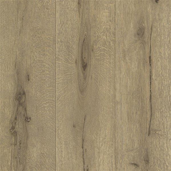 Papier peint sans colle non-tissé à motif de bois Deluxe par Advantage, 56,4 pi², brun