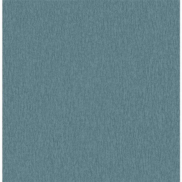 Papier peint sans colle non-tissé avec motif abstrait 3D Medley de Fine Decor, 56,4 pi², bleu