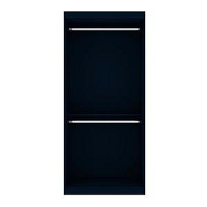 Vestiaire-penderie ouvert de 35,9po Mulberry par Manhattan Comfort, Tatiana coloris bleu-nuit