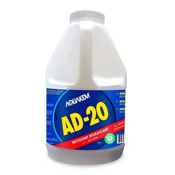 Nettoyant dégraissant tout usage AD-20, 121,73ozliq