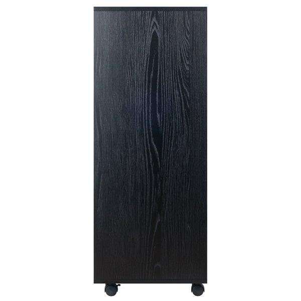Meuble Halifax par Winsome Wood 5 tiroirs, noir
