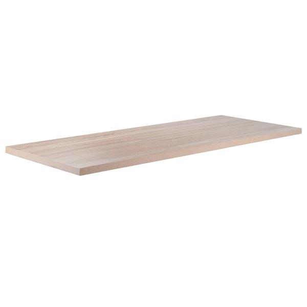 Meuble de bureau Kenner par Winsome Wood blanc et en bois de récupération