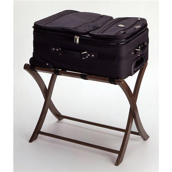 Support à bagages Scarlett par Winsome Wood, en noyer