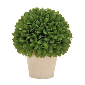 Grayson Lane 12-in Green Artificial Boxwood Trees