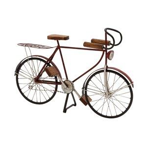 Grayson Lane 14-in x 21-in Vintage Sculpture Rust Metal Bicycle
