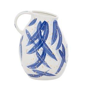Grayson Lane Contemporary Blue Ceramic Vase