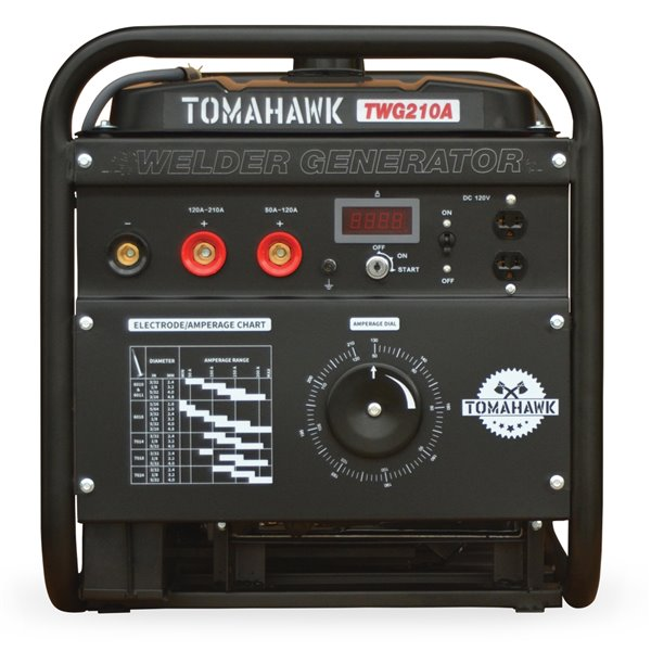 Génératrice de soudeuse à électrodes 3600 de 15 HP par Tomahawk