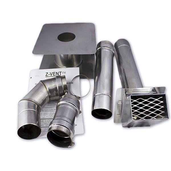 Chauffe-eau électrique sans réservoir d'intérieur au propane FVI12-LPH par Eccotemp, 4gal/min, 74500BTU