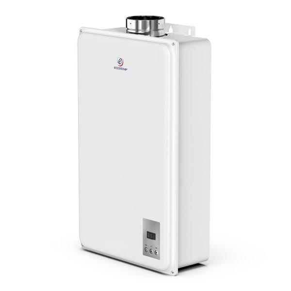 Chauffe-eau électrique sans réservoir d'intérieur au propane 45Hi-LP par Eccotemp, 6,8gal/min, 140000BTU