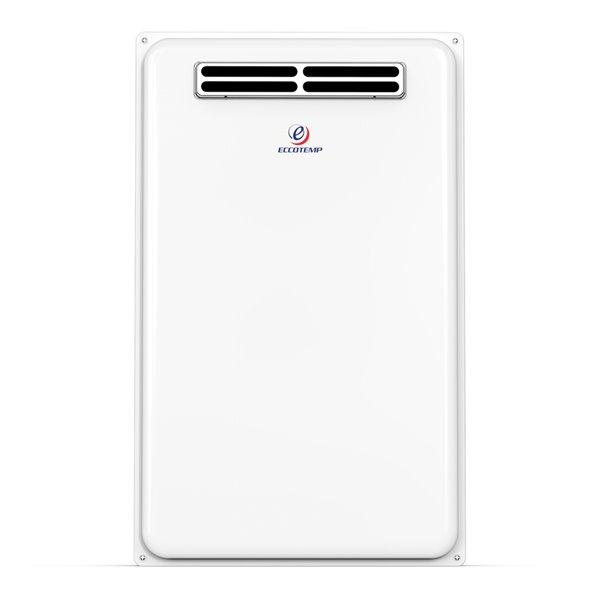 Chauffe-eau électrique sans réservoir d'extérieur au propane 45H-LP par Eccotemp, 6,8gal/min, 140000BTU