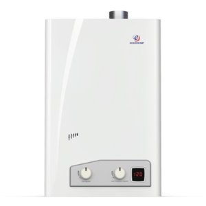 Chauffe-eau électrique sans réservoir d'intérieur au gaz naturel FVI12-NGV par Eccotemp, 4gal/min, 74500BTU