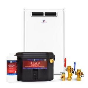 Chauffe-eau électrique sans réservoir d'extérieur au gaz naturel 45H-NGS par Eccotemp, 6,8gal/min, 140000BTU