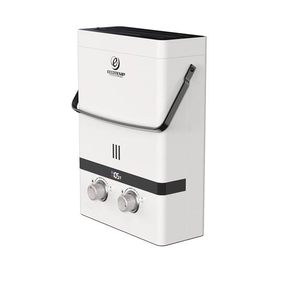 Chauffe-eau électrique sans réservoir d'extérieur au propane EL5 par Eccotemp, 1,5gal/min, 37500BTU