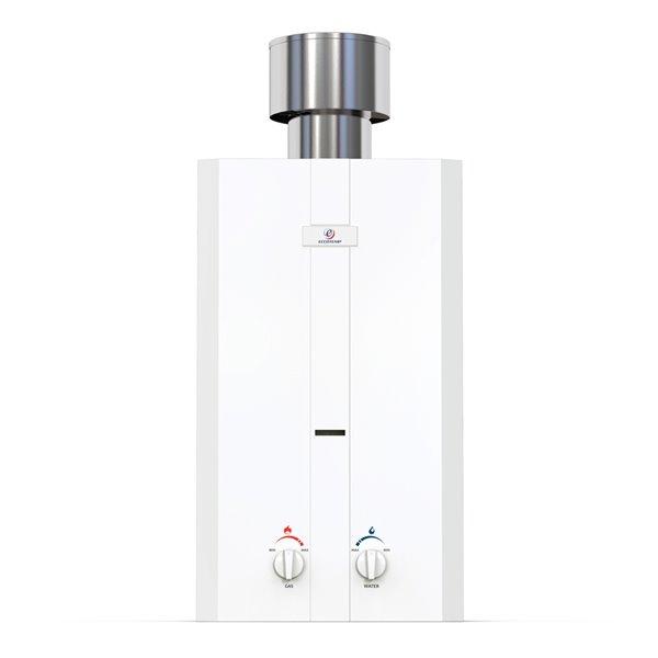 Chauffe-eau électrique sans réservoir d'extérieur au propane L10-PS par Eccotemp, 3gal/min, 75000BTU