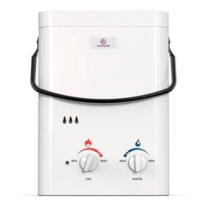 Chauffe-eau électrique sans réservoir d'extérieur au propane L5 par Eccotemp, 1,5gal/min, 37500BTU