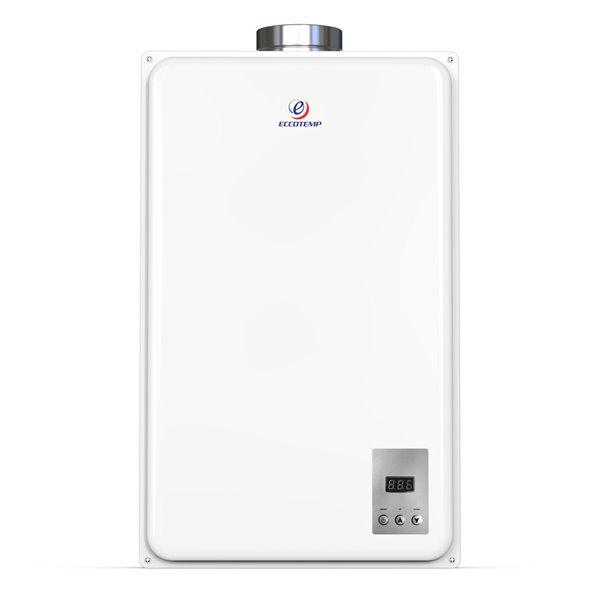 Chauffe-eau électrique sans réservoir d'intérieur au gaz naturel 45Hi-NGV par Eccotemp, 6,8gal/min, 140000BTU