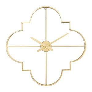 Cosmoliving By Cosmopolitan Analog Novelty Wall Standard Clock (24-in x 24-in)