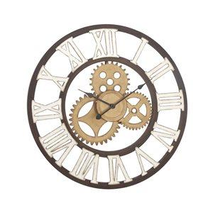 Grayson Lane Analog Round Wall Standard Clock - 30-in x 30-in