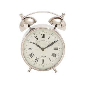 Grayson Lane Analog Round Tabletop Standard Clock - 7-in x 3-in
