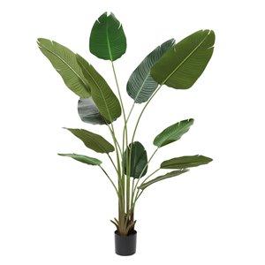 Grayson Lane 69.50-in Green Artificial Bird of Paradise Plant