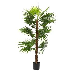 Grayson Lane 64.60-in Green Artificial Palm Plant