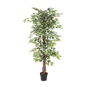 Grayson Lane 73-in Green Artificial Ficus Tree