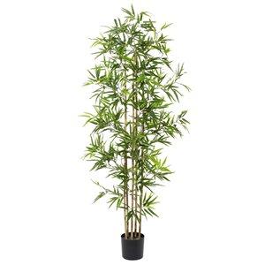Grayson Lane 72-in Green Artificial Bamboo Plant